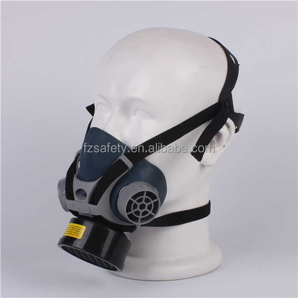 beautiful antigas mask for safety helmet,rubber material