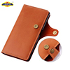 Brown Leather Case For IPhone 5S Se Flip Case Cover