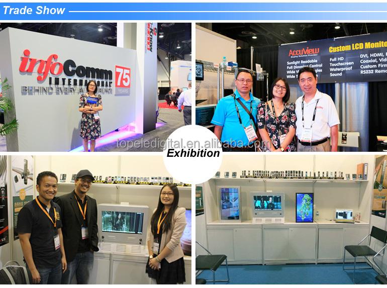 Multimedia 22'' Lcd Advertising Display Media Company,Lcd Video ...