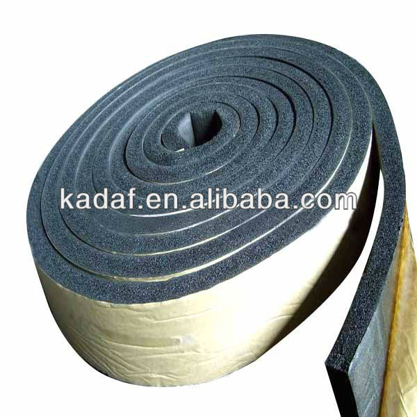 PE foam easily adhered tape materials for steel frames and lightweight cladding materials