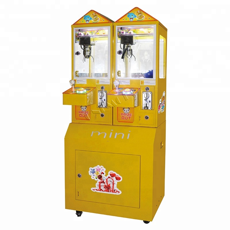 Cheap Coin Operated Mini Claw Crane Game Machine For Sale ...