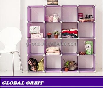 DIY Home Plastic Storage Boxstorage Cubesstorage Shelf