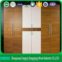 chipboard/MDF melamine face wardrobe panel furniture