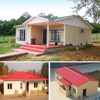 Export to India insulated low cost prefab house