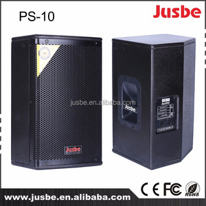 Factory wholesale 10 inch 200w professinal audio speaker sound box EV speaker for music bar disco