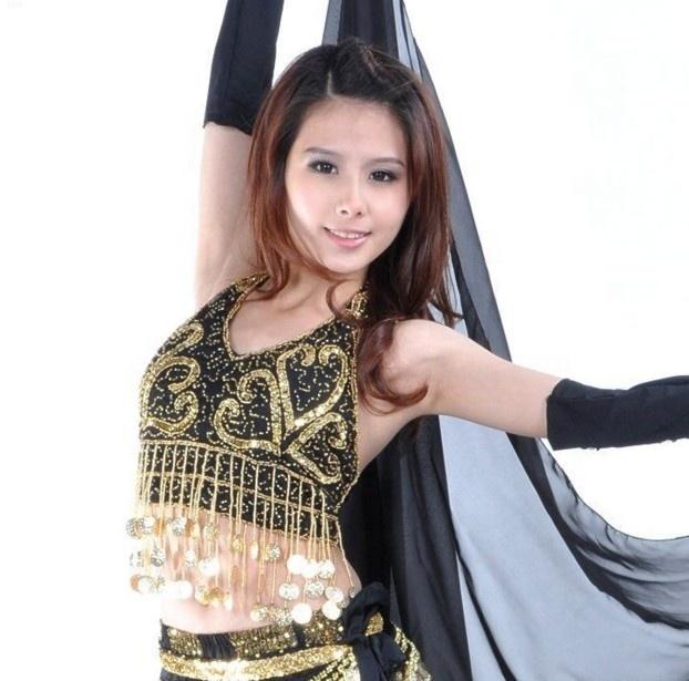 b6316d14454 China Belly Dance Coin Bra