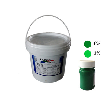 Organic pigment green 7 color dispersion with 35% pigment content for dyeing or printing
