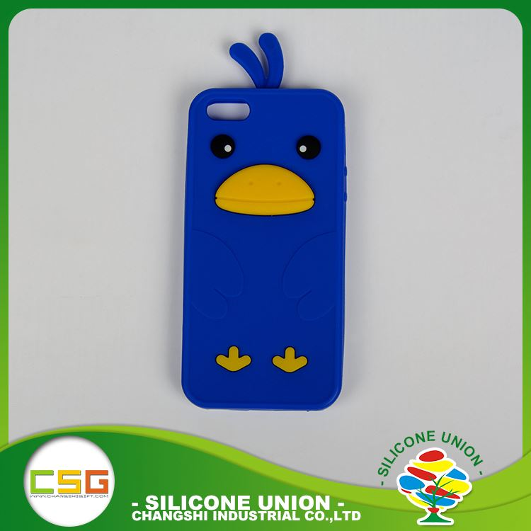 Functional custom logo solid color silicone blank cell phone case