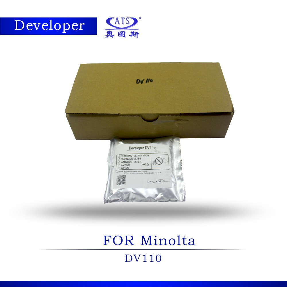 <strong>Developer</strong> DV110 compatible for Konica Minolta Bizhub 152 183 162 copier <strong>developer</strong>