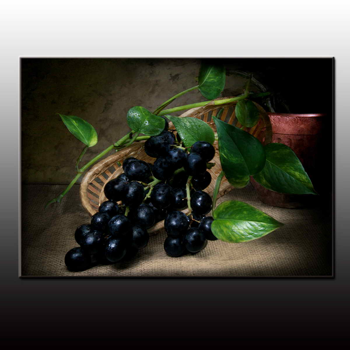 BC13-8151 Handmade Impressionist famous Still Life Fruit Oil Painting on canvas