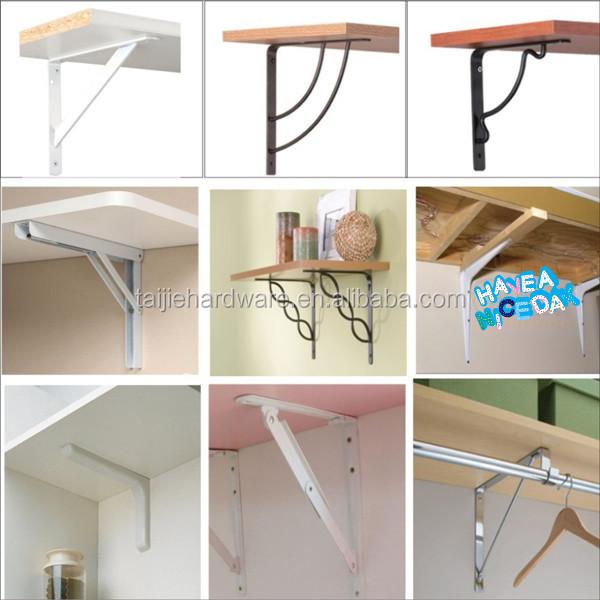 floating shelf support bracket floating wall shelf bracket triangle corner reinforcing bracket