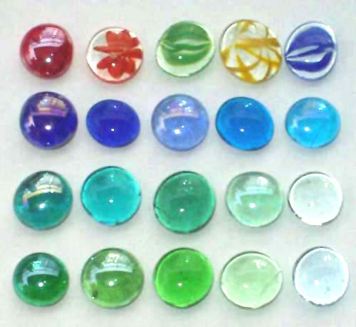 High Quality Flat Glass Marbles Glass Gems Buy Flat
