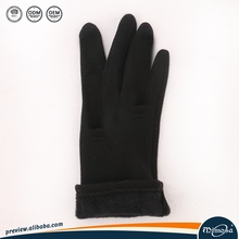 Winter Warm Knit Red Touch Screen Gloves for Men Women