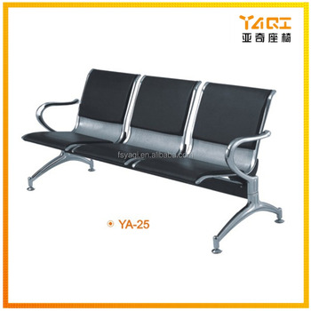 Magnificent Steel Chromed Steel Seating Bench Hospital Public Used 3 Seater Cheap Pu Leather Metal Airport Waiting Chair Ya 25 View Waiting Chair Yaqi Product Gmtry Best Dining Table And Chair Ideas Images Gmtryco