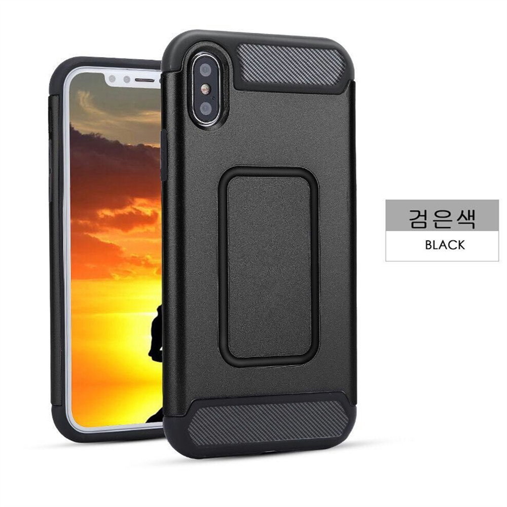 Tank Series Anti-drop Full Protective Back Cover Armor Phone Case for iPhone X