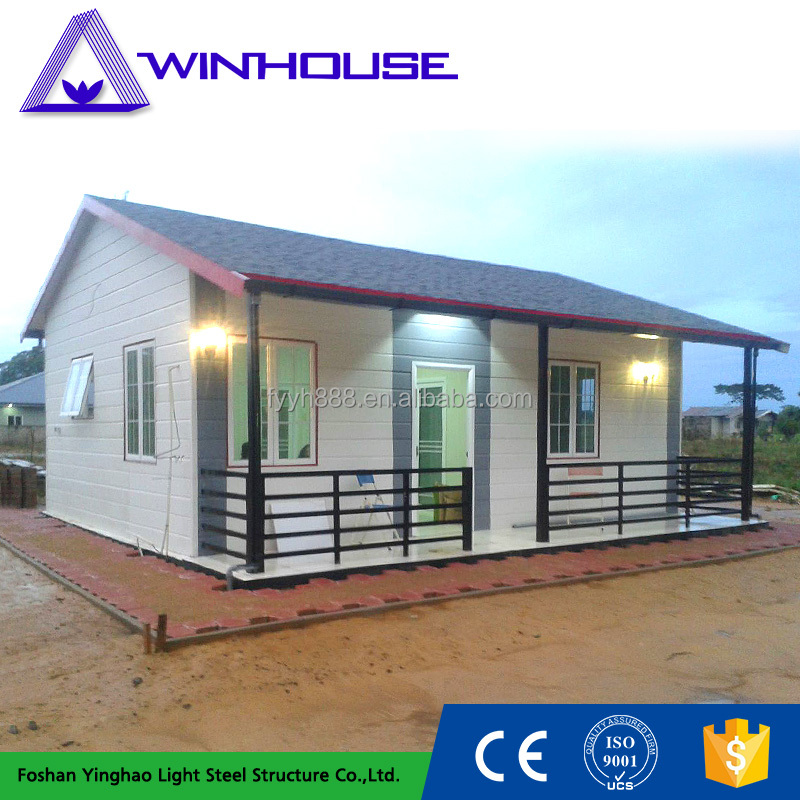 Lightweight Weather Proof Small Low Cost Prefab House For Kenya
