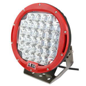 Red Round ARB 9'' 96W C REE LED Driving Spot Work Light 4WD Offroad VS HID 100W