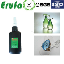 transparent fast curing uv glue shadowless for glass acrylic crystal