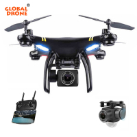 Global Drone GW168 Drone With Camera HD FPV 1080p Gimbal drones with long flight time