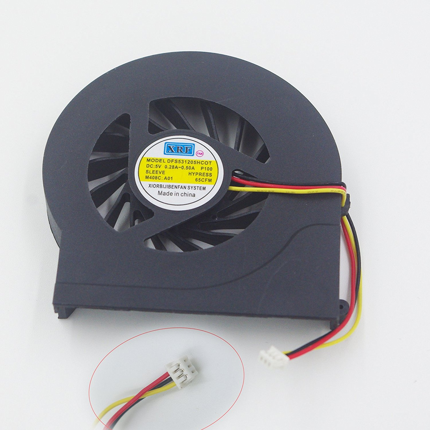 New CPU Cooling Fan for HP Pavilion dv7-4000 dv7-4100 dv7-4200 dv7-4300 dv7t-4100 CTO dv7t- 4200 CTO series laptop