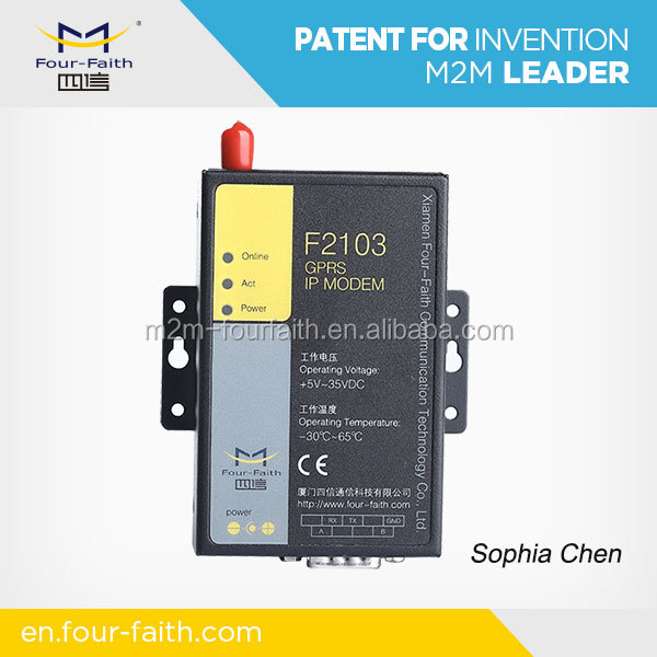 F2403 Industrial High Speed 3g wireless modem with ddns