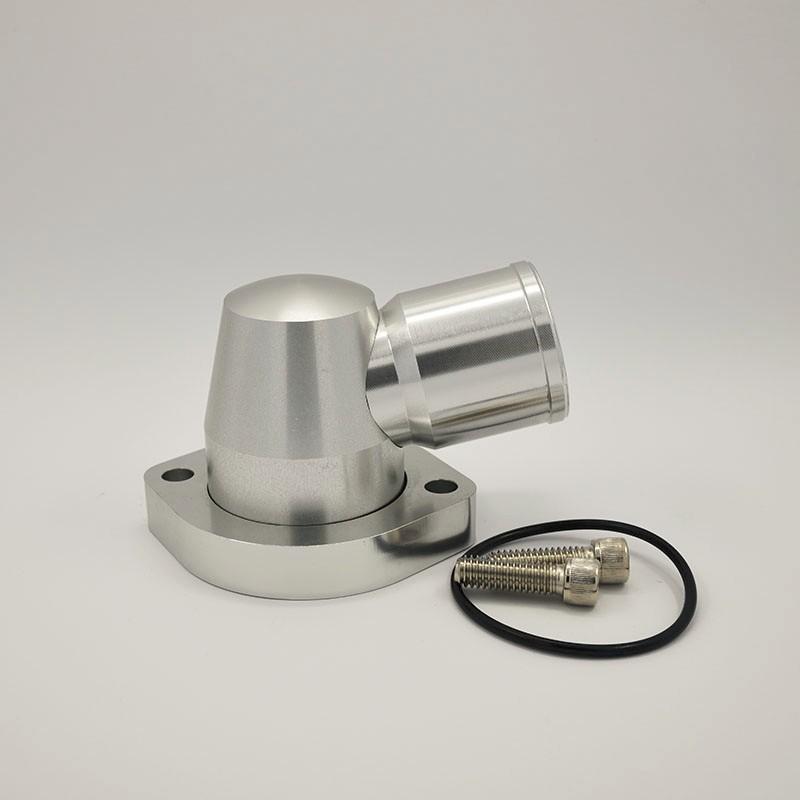 china hot billet swivel thermostat housings short water pump 20an ls engine black buy billet. Black Bedroom Furniture Sets. Home Design Ideas