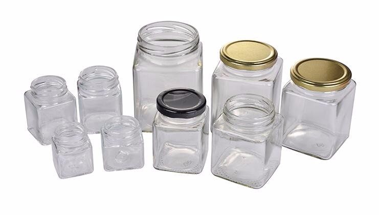 Ml Wide Mouth Clear Glass Jam Jar