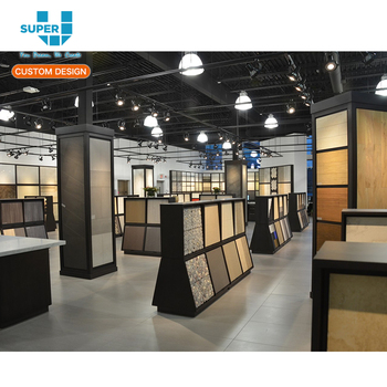 Professional Designer Team New Ideas Ceramic Tile Showroom Display