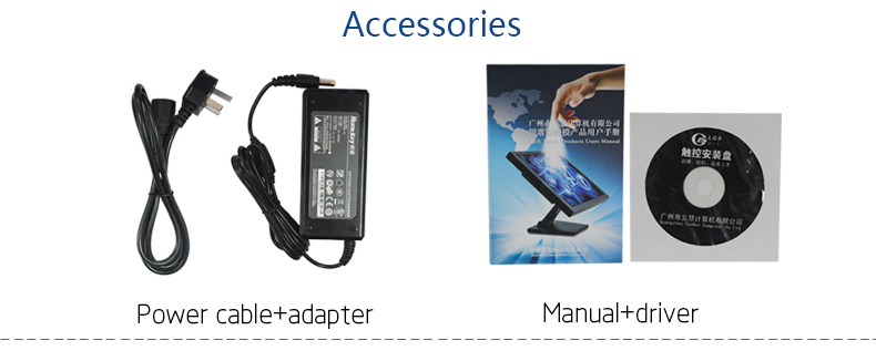Pos Monitor /touch All In One Pc /touch Screen Computer With Card ...
