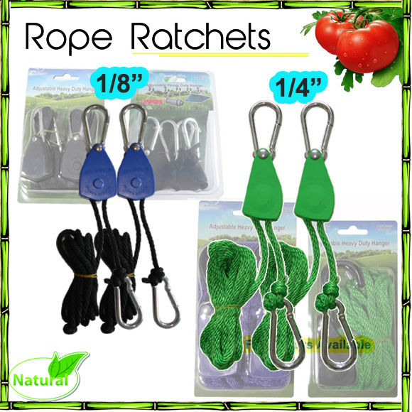 "1/4 "", 1/8"" Rope Ratchet Hanger/Élastique sangle D'arrimage À Cliquet/En Plastique Sangle À Cliquet"