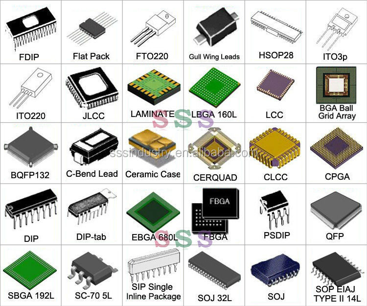 original electronic components mobile light ic