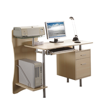 Modern Metal Frame Wooden Desktop Computer Table Design, View desktop  computer table, LONSHINE Product Details from Long Sheng Office Furniture  Co., ...