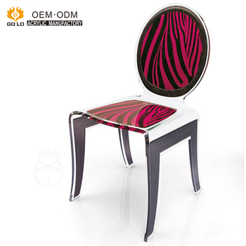Custom Modern Acrylic Transpa Chair Louis Clear