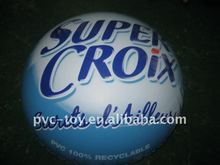 inflatable hot air flattened balloon with logo printed for advertisement