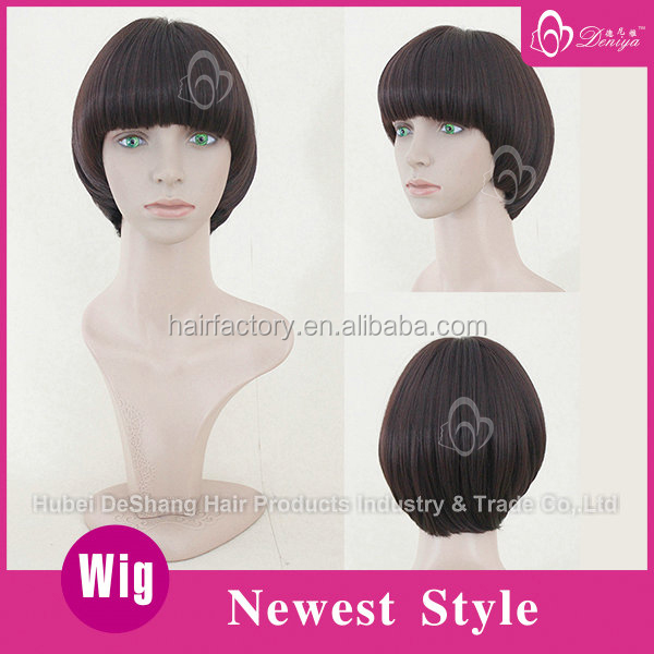 Doll wig for American girl,short hair bob doll wig,fashion spiky hair wigs