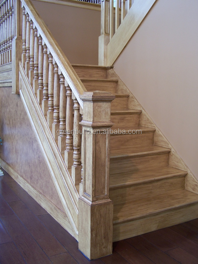 Birch hardwood staircase handrail price buy birch for Birch wood cost