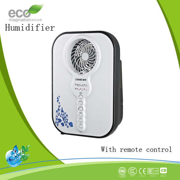 Plastic Material and Electric Power Source water Mist Fan