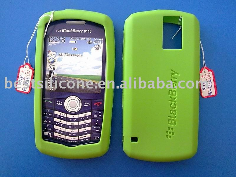 Silicone case for blackberry 8110 (TYPC-54)