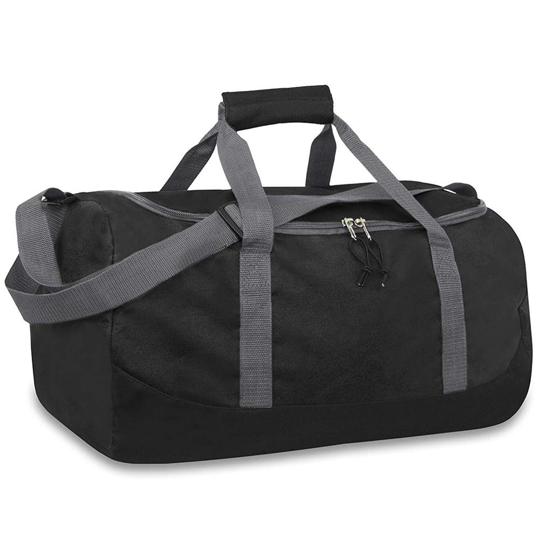 8e021cb2817c Get Quotations · Wholesale Bulk 20 Inch Duffel Duffle Gym Bag - Black - 24  Bags Per Case