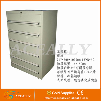 4/5/6/ drawers rolling lockable metal filing cabinet tools cabinets lockable metal filing cabinet