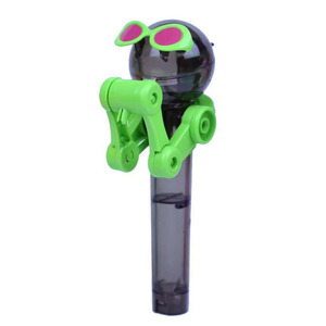 Latest Creative Personality Toy Lollipop Holder Decompression Toy Lollipop Robot Decompression Candy Toy E0065