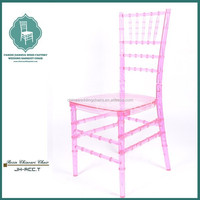 Stacking Crystal PP/PC Chiavari Wedding Chair