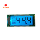 3 digit tn segment lcd display module for humidity tester