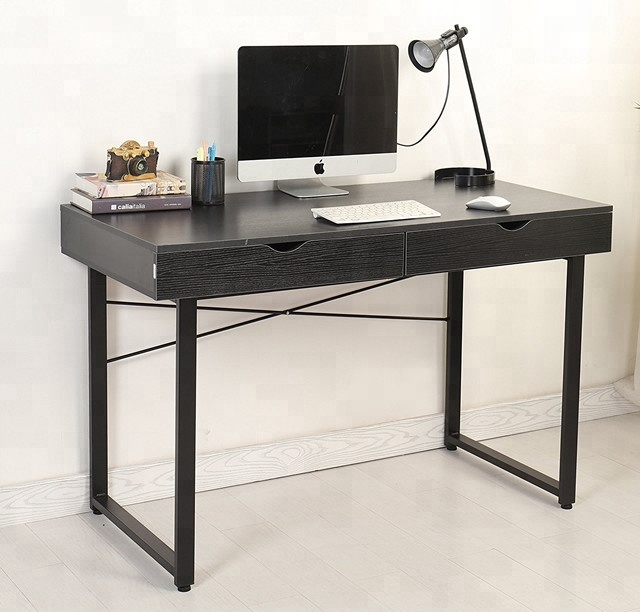 Simple Office Desk Workstation Wooden Computer Desk Pc Laptop Study Writing  Table With Drawers Home Office Furniture   Buy Computer Desk,Study Laptop  ...
