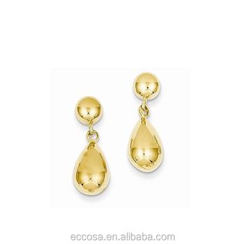 Fashion Jewelry Trendy Stud Earring Earrings Zirconia Stick On For S