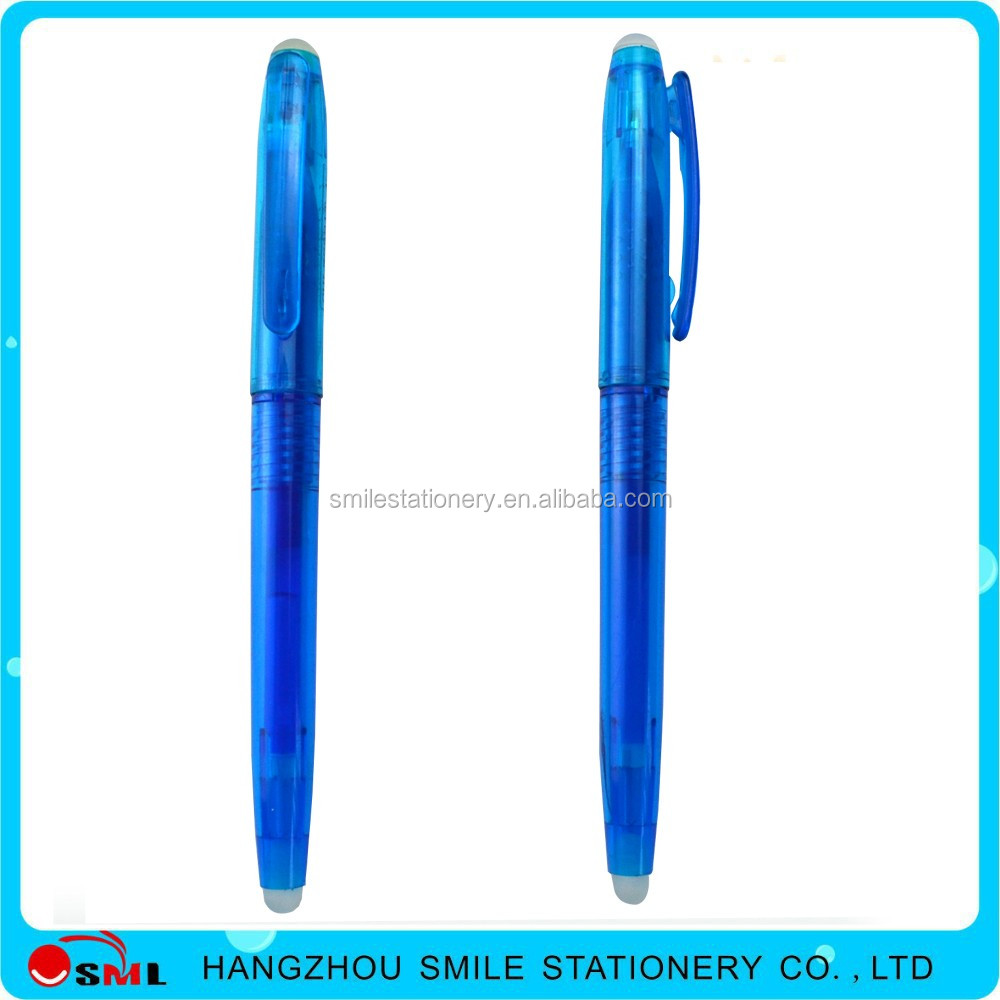 For European market erasable Pilot frixion gel pen