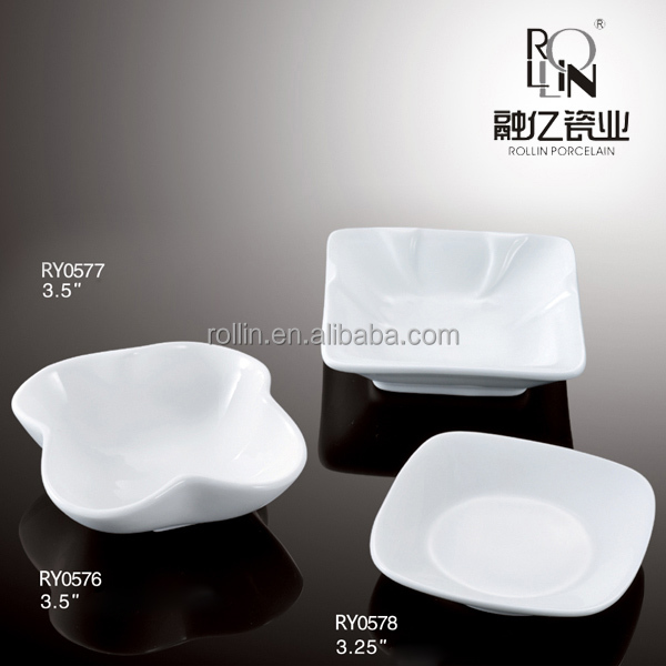 China manufactures ceramic dishes wholesale restaurants fine porcelain dinner dishes