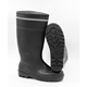 black steel safety industry and mine pvc safety boot