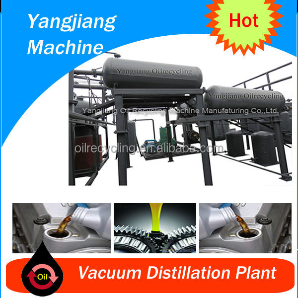 Waste Engine Oil/Black Oil Regeneration Management