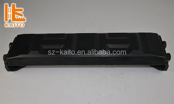 Mini crawler loader, mini track loader rubber track, track pad